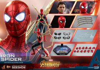 Avengers Infinity War Movie Masterpiece Action Figure 1/6 Iron Spider 28 cm