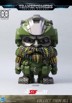 Transformers The Last Knight Super Deformed Vinyl Figure Hound 10 cm