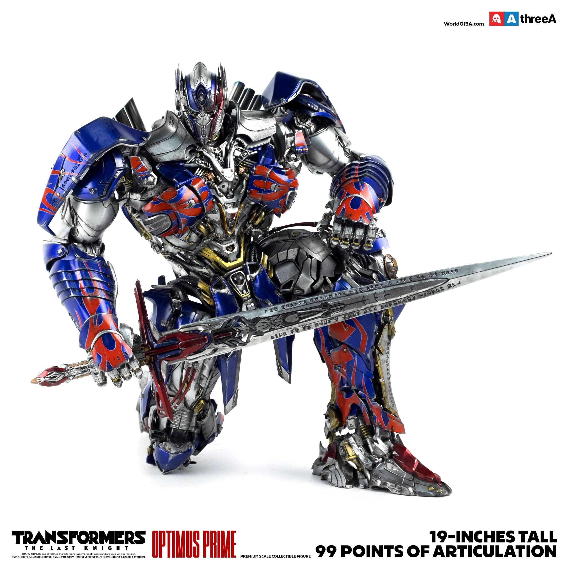 Transformers The Last Knight Action Figure 1/6 Optimus Prime 48 cm