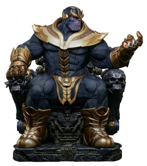 Marvel Comics: Thanos on Throne - Maquette 54 cm - Sideshow