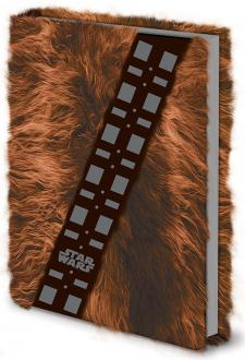 Star Wars Premium Notebook A5 Chewbacca Fur