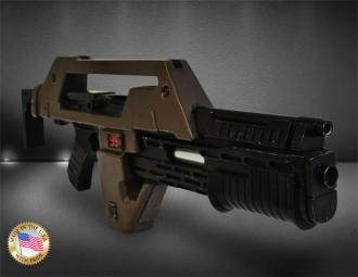 Aliens Replica 1/1 Pulse Rifle Brown Bess Weathered Ver