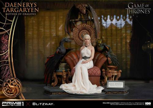 Game of Thrones: Daenerys Targaryen - Mother of Dragons - Statue 1/4 - Prime 1