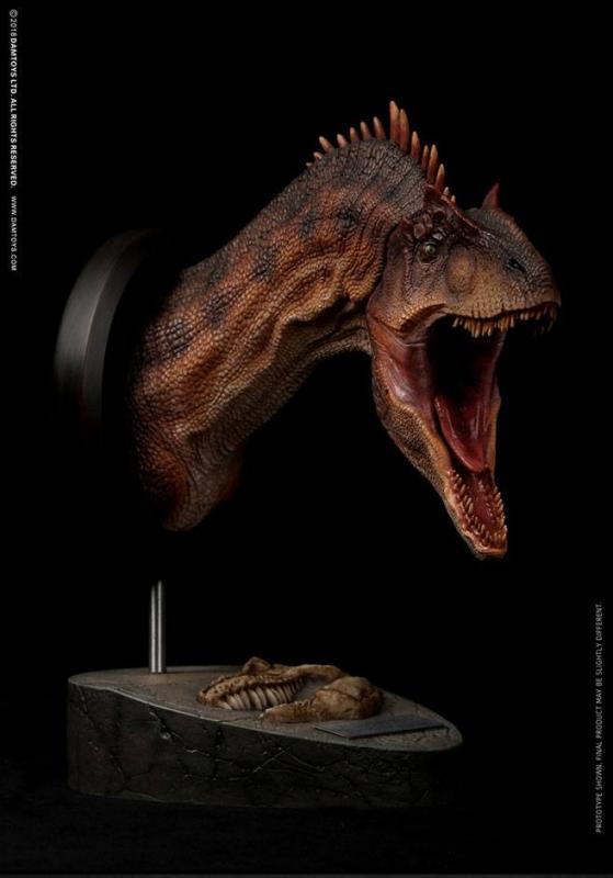 Paleontology World Museum Collection Series Bust Allosaurus Red Ver. 25 cm