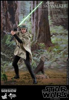 Star Wars Episode VI Movie Masterpiece Action Figure 1/6 Luke Skywalker Endor 28 cm