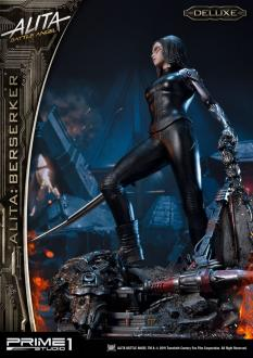 Alita: Battle Angel Statue 1/4 Alita Berserker Deluxe Version 64 cm