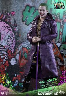 Suicide Squad Action Figure 1/6 The Joker (Purple Coat)