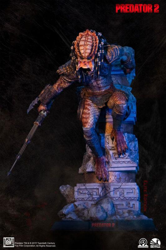 Predator 2 Statue 1/4 City Hunter Elite Edition 65 cm