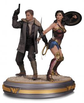 Statue Wonder Woman and Steve Trevor 1/6 34 cm
