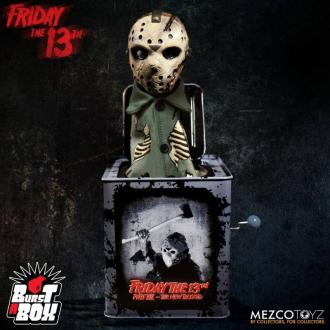Friday the 13th: Jason Voorhees - Burst-A-Box Music Box 36 cm - Mezco