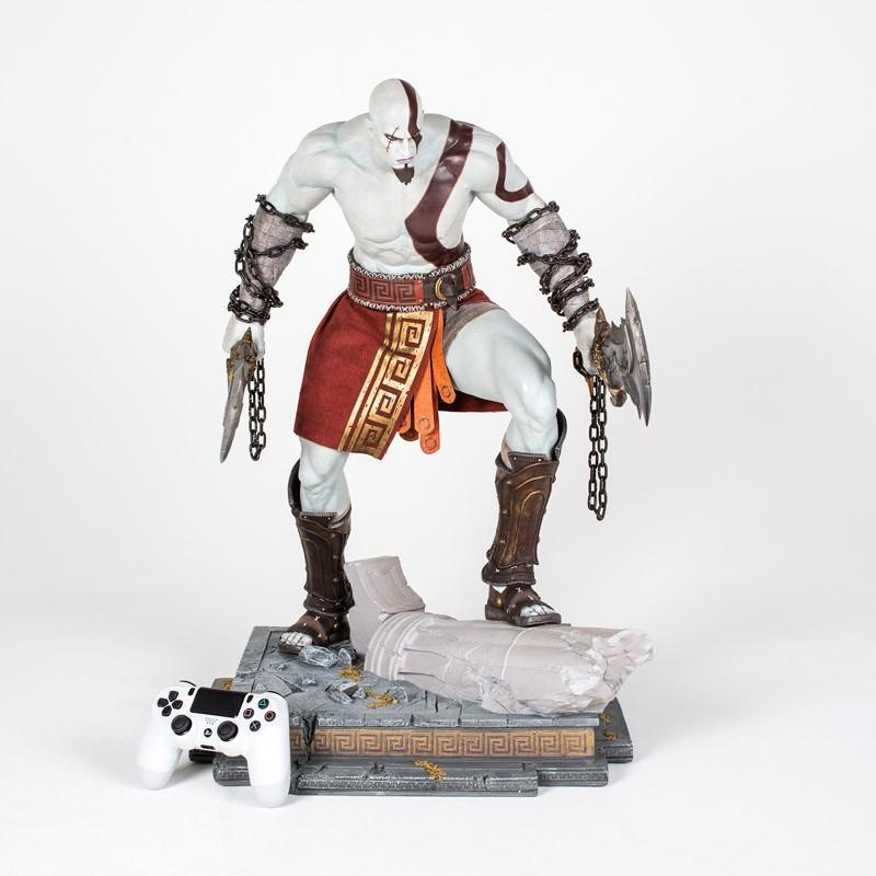 God of War: Kratos Premium Statue