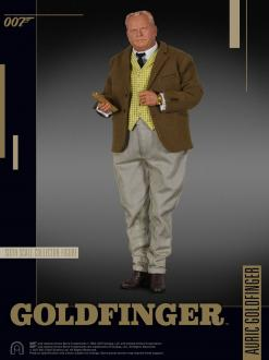 James Bond - Auric Goldfinger 30 cm
