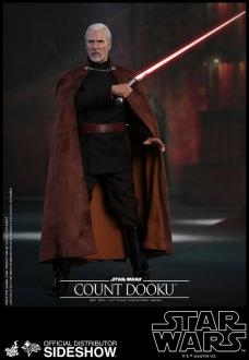 Star Wars Episode II Movie Masterpiece Action Figure 1/6 Count Dooku 33 cm