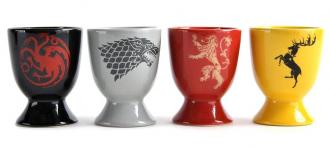 Game of Thrones Egg Cup 4 Pack All Sigils
