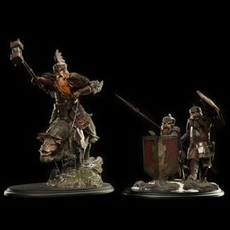 Hobbit The Battle of the Five Armies Statue 1/6 Dwarves of the Iron Hills 38 cm
