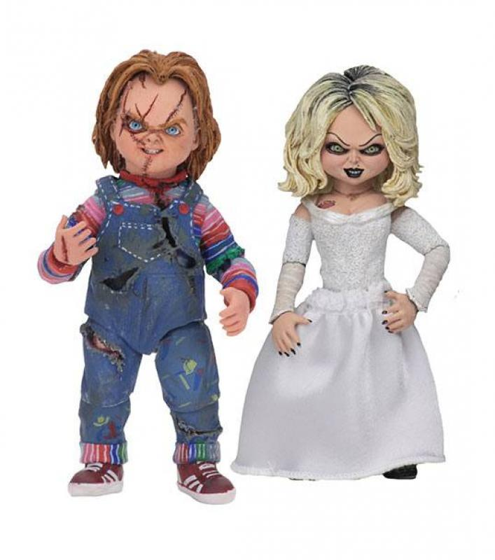 Bride of Chucky Ultimate Action Figure 2-Pack Chucky & Tiffany 10 cm