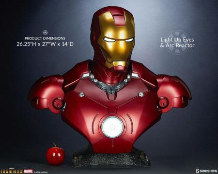 Iron Man Bust 1/1 Iron Man Mark III 68 cm