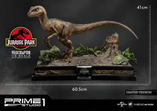 Jurassic Park Statue 1/6 Velociraptor Closed Mouth Ver. 41 cm