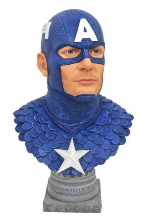 Marvel Comics Legends in 3D Bust 1/2 Captain America 25 cm