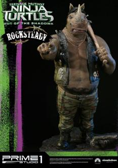 Teenage Mutant Ninja Turtles 1/4 Statue Rocksteady 55cm
