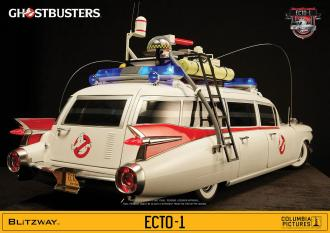 Ghostbusters Vehicle 1/6 ECTO-1 1959 Cadillac 116 cm