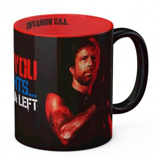 Chuck Norris Mug I'm Gonna Hit You Matt Hunter
