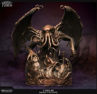 H.P. Lovecraft Museum of Madness Statue Cthulhu Bronze Exclusive 56 cm