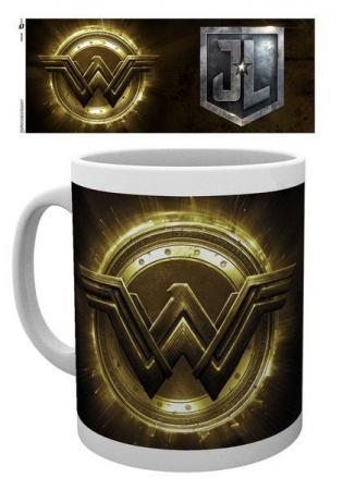Justice League Mug Wonder Woman Logo
