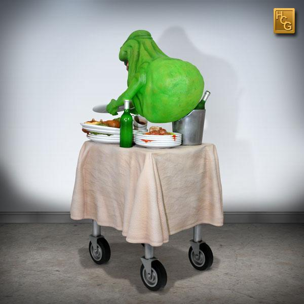 Ghostbusters Statue 1/4 Slimer 60 cm