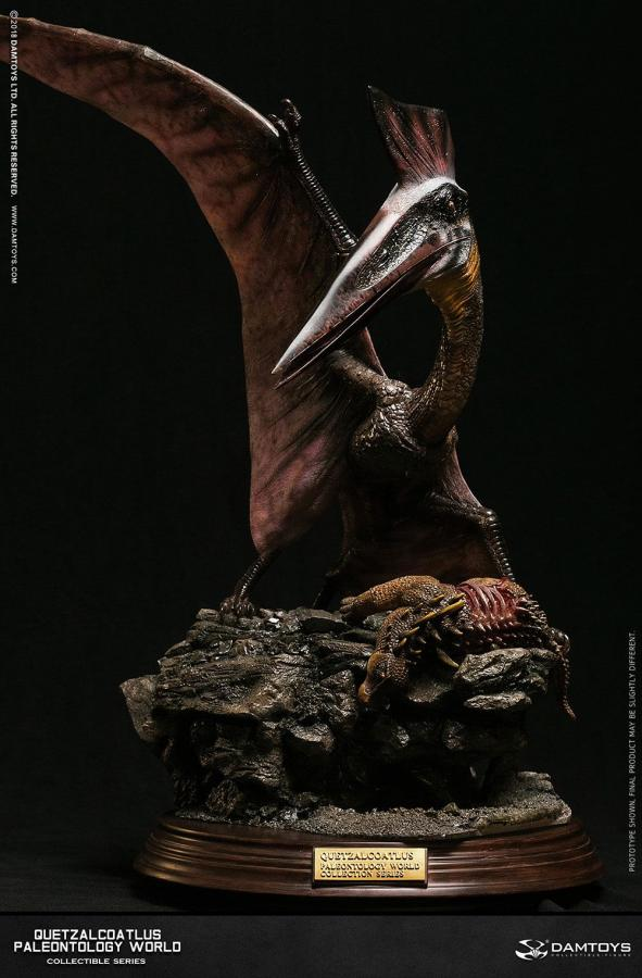 Paleontology World Museum Collection Series Statue Quetzalcoatlus Red Ver. 51 cm