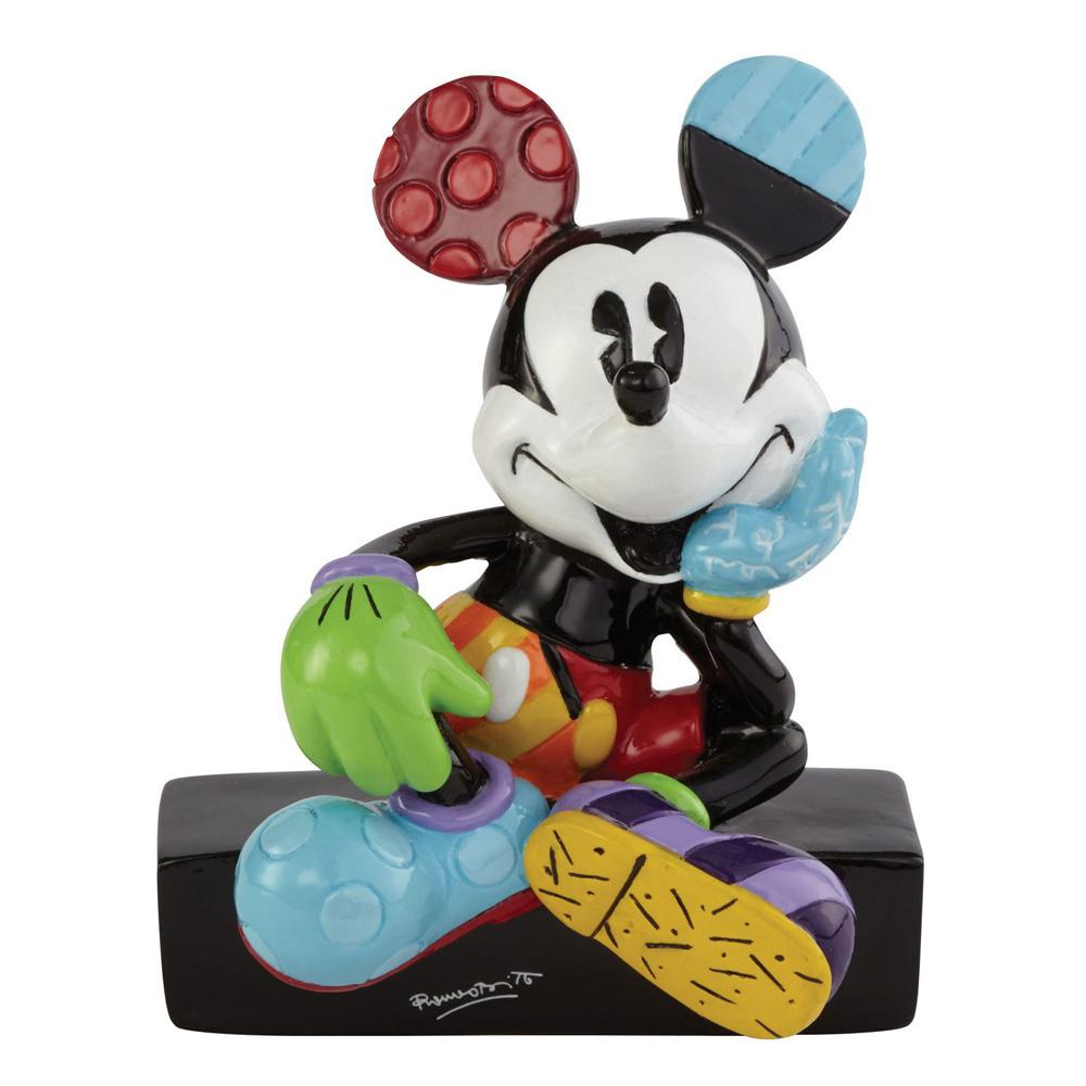 Britto Mickey Mouse Sitting Mini Figurine 7,5 cm