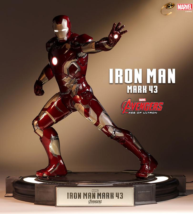 Avengers Age of Ultron: Iron Man Mark 43 Cinemaquette