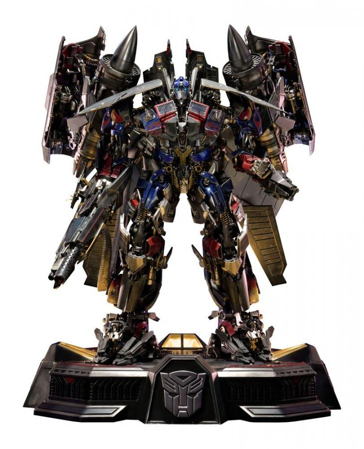 Transformers Revenge of the Fallen Statue Jetpower Optimus Prime 93 cm